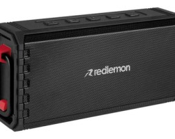 Bocina Redlemon 79129 Portátil Con Bluetooth Negra