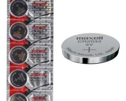Baterías Pilas Cr2032 Maxell Paquete 5 Piezas Hitachi Japan