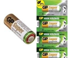 Pilas Baterías 23a Gp 12v. Paquete De 5 Piezas Alto Voltage