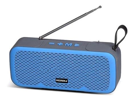 Altavoz Portátil De Doble Bocina Antena De Radio Fm L8b