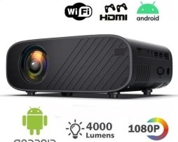 Android 6.0 4000 Lúmenes Proyector 3d 1080p Hd Wifi