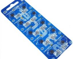Pilas Baterías Renata 377 Sr626sw Ag4 10 Piezas O. De Plata