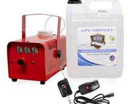Máquina De Humo Con Control Remoto 500 W Con Sanitizante