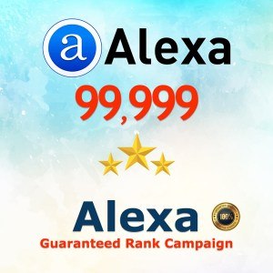 Alexa Guaranteed Ranking Boost 100K