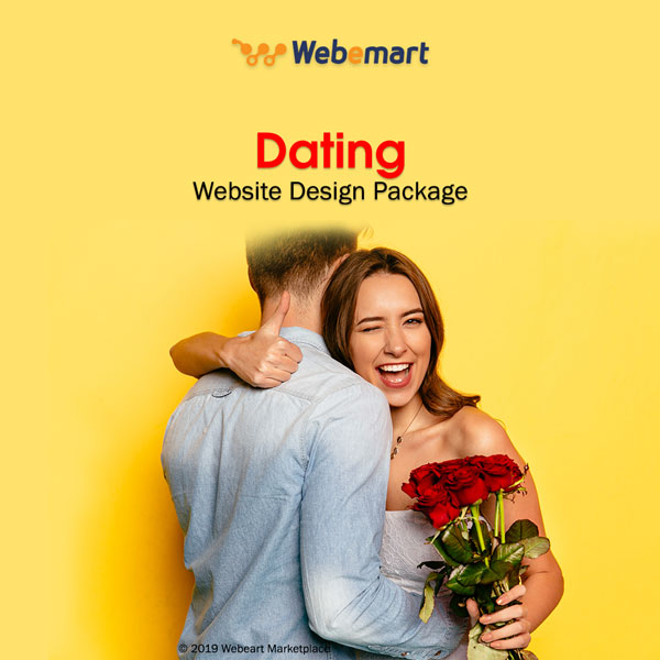 Dating Website Design Package Webemart Marketplace