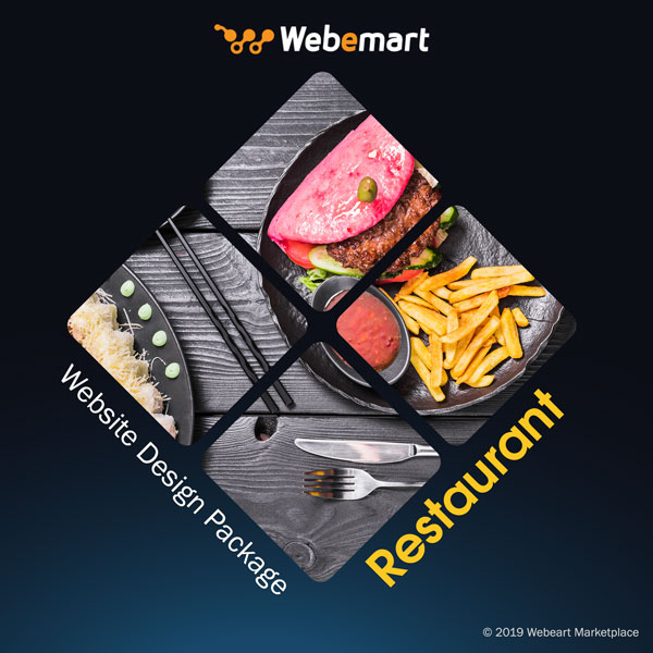 Restaurant Web Design Package Webemart Marketplace