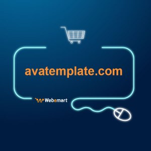 AVA Template Website for Sale