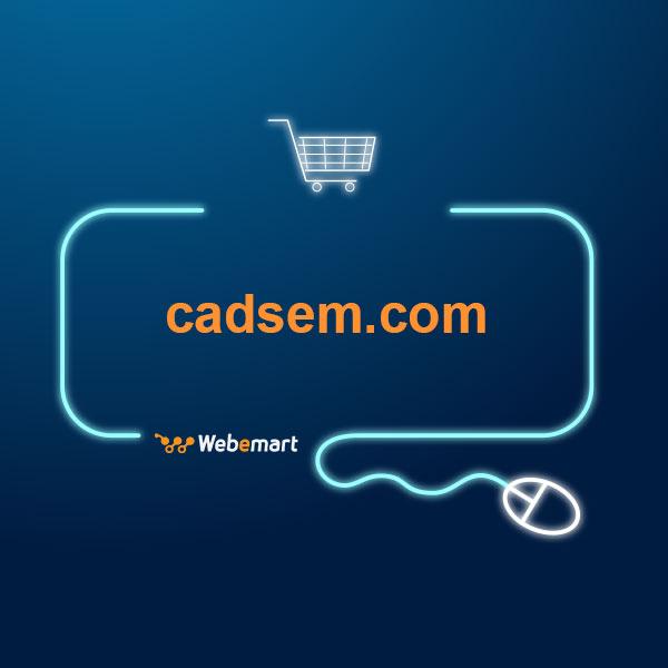 CAD SEM Website for Sale