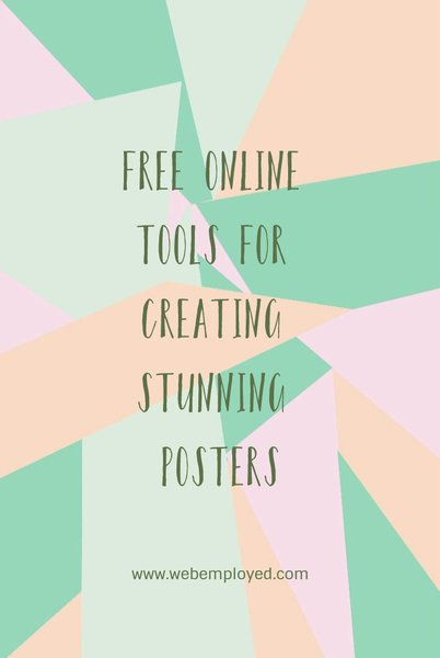 Free online tools for creating posters