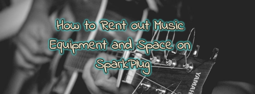 Rent out music equipment