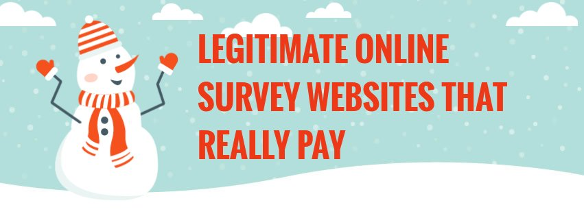 8 Legitimate Online Survey Websites that Really Pay