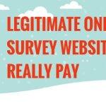Legitimate online survey websites