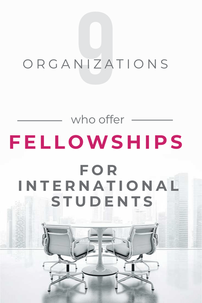 Fellowships for International Students