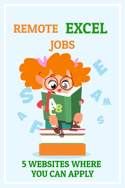 remote excel jobs 5 websites where you can apply
