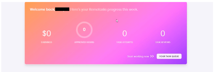 remotasks dashboard
