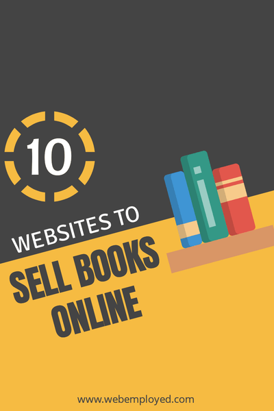 How to Make Money Selling Books Online (10 Websites)