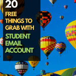 free stuff with student email account