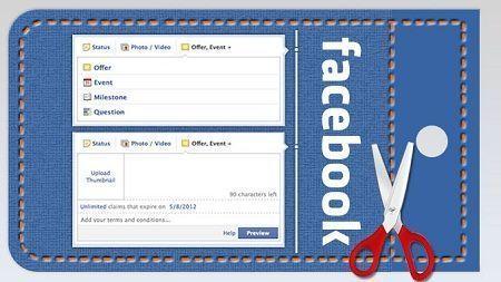 Cupones-ofertas Facebook