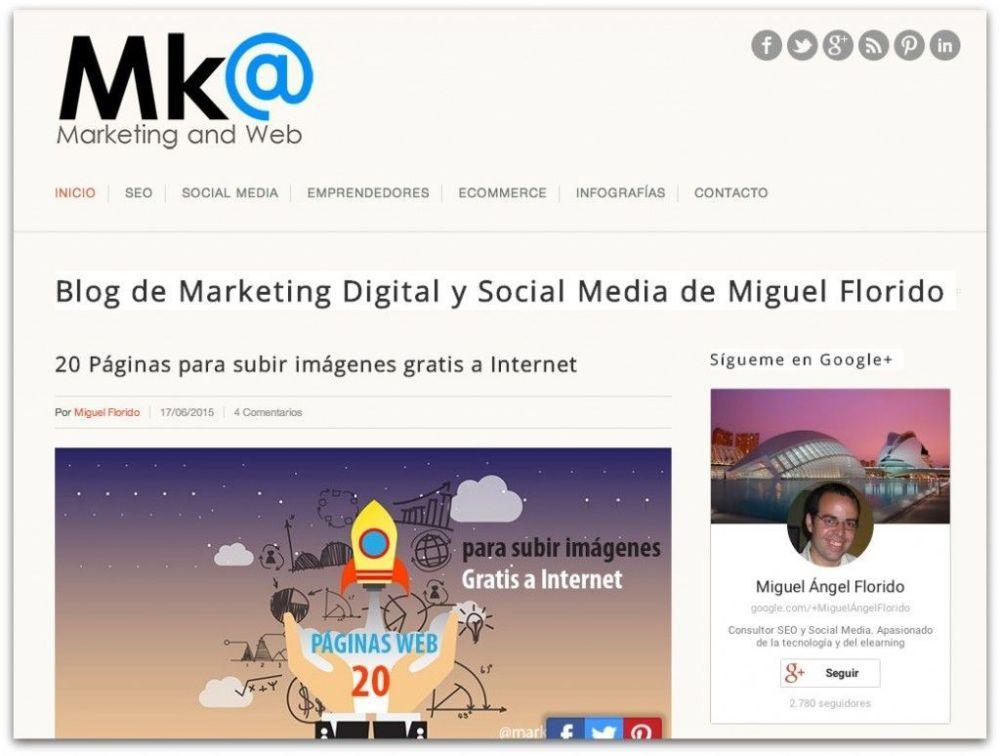 La Aprendiz de Community Manager, uno de los 10 mejores blogs de marketing digital en español 2015 (1/6)