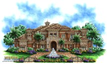 Southwestern Style Home Plans