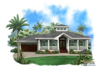 Key West Style Home Plans