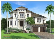 West Indies Style Home Plans