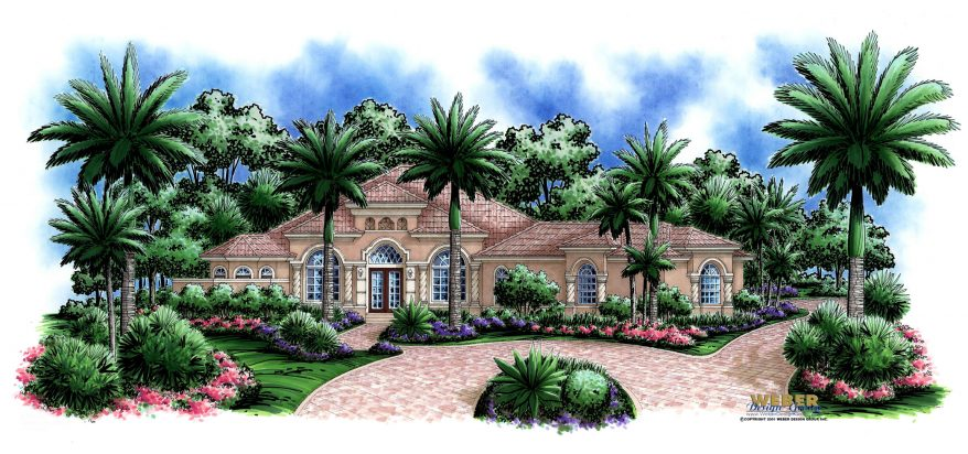 living room sets naples fl window treatment ideas for rooms colonnade house plan - weber design group; naples, fl.