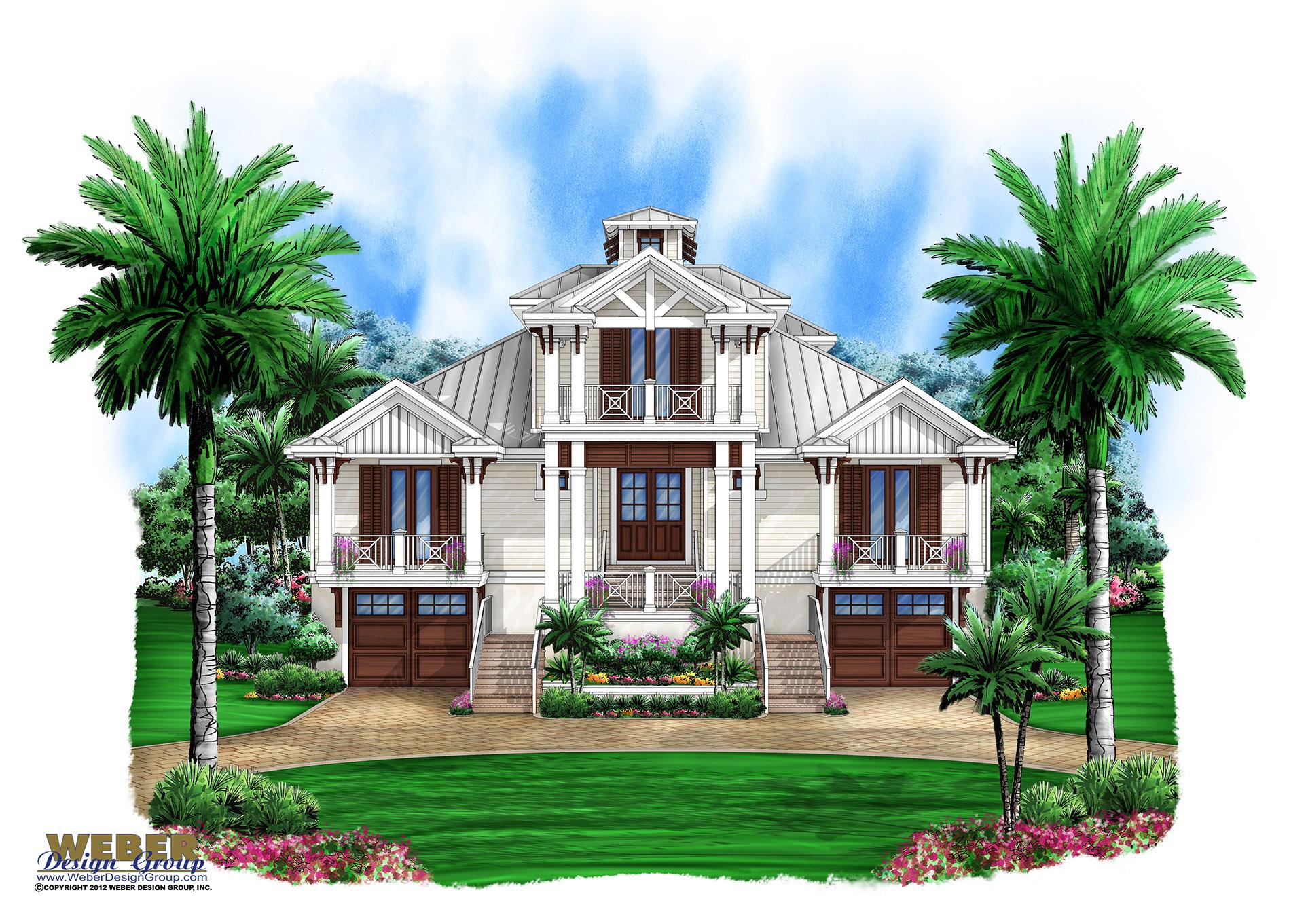 "Olde Florida Home Plans Stock Custom Old Florida ""Cracker Style"