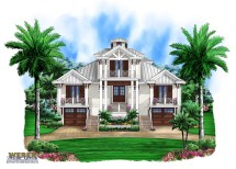 Florida Beach Home House Plans