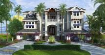 Caribbean Style House Plans