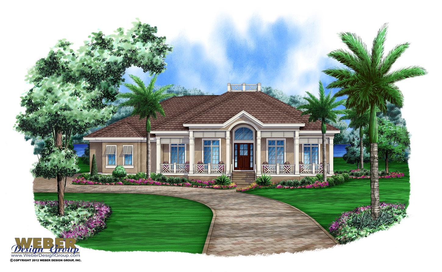 Florida House Plans Architectural Designs Stock & Custom Home Plans