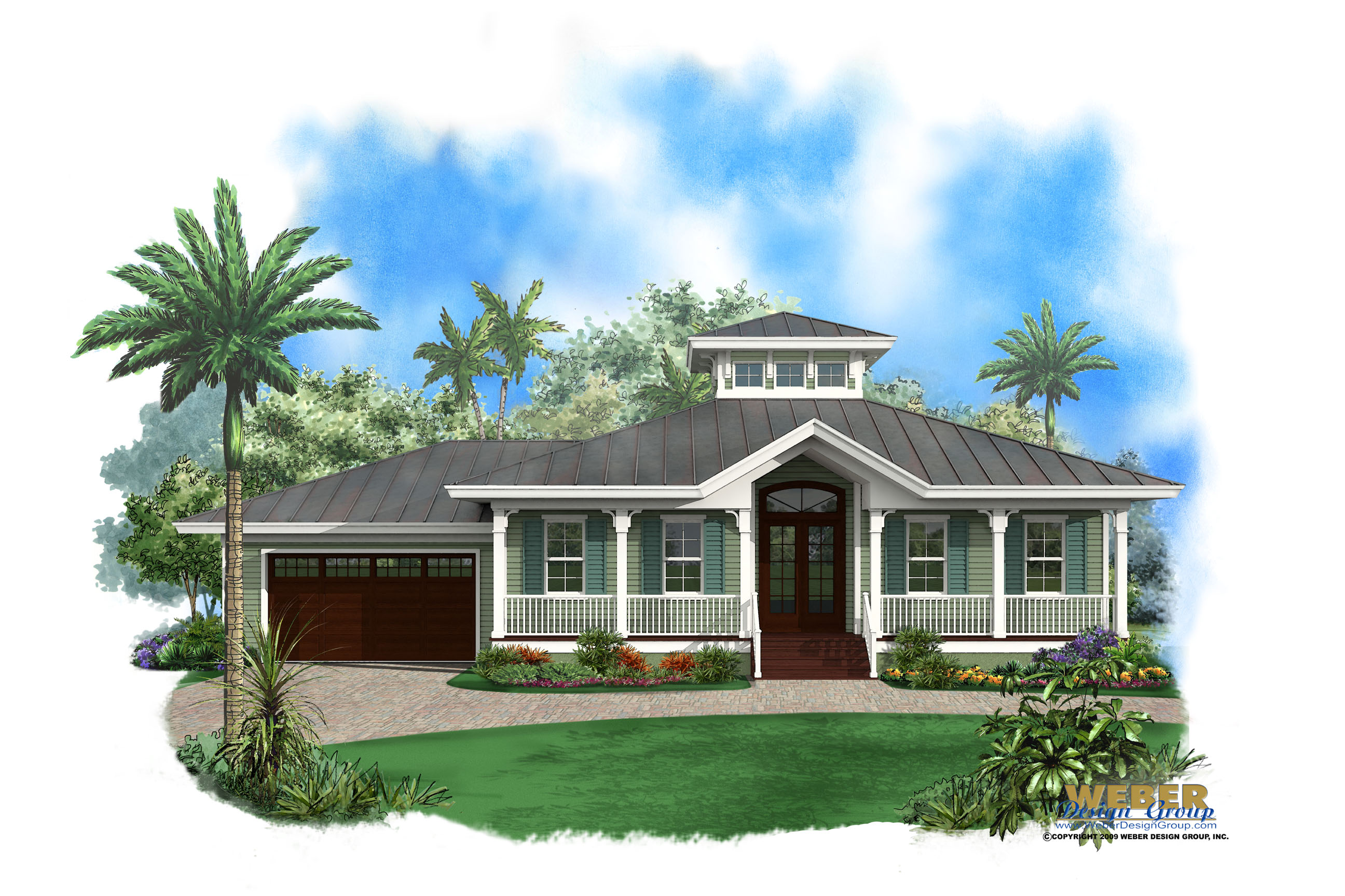 "Olde Florida Home Plans, Stock/Custom Old Florida ""Cracker"