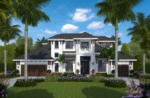 British West Indies Style House Plans