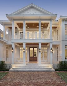 Naples Fl. Architects Design Florida Style Home Downtown
