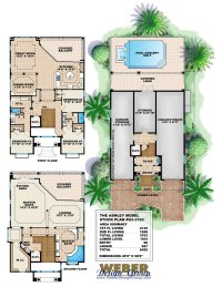 Three Story House Plans - Modern Contemporary Homes to ...