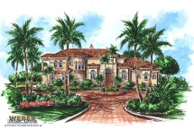 Mediterranean House Plan Luxury 2 Story