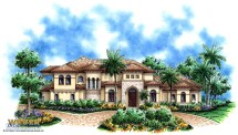 Mediterranean House Plan Luxury 2 Story