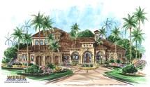 Weber Design Group House Plan Mediterranean