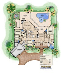 Ambergris Cay House Plan - Weber Design Group, Inc.
