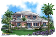 Key West Style House Plans for Florida