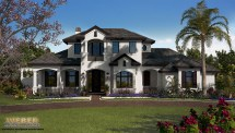French Country House Plan
