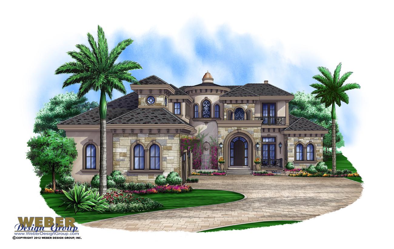 Best Kitchen Gallery: Luxury House Plans Beach Coastal Mediterranean Luxury Floor Plans of Custom Home Design Plans  on rachelxblog.com