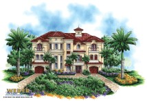 Home Luxury Mediterranean House Plans