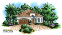 Tuscan House Plan Mediterranean Style Home Floor