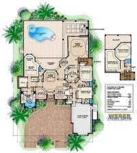 Mediterranean House Plan: Tuscan Coastal Contemporary ...