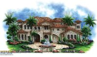 Tuscan House Plans With Courtyards