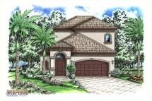 2 Story Mediterranean House Plans