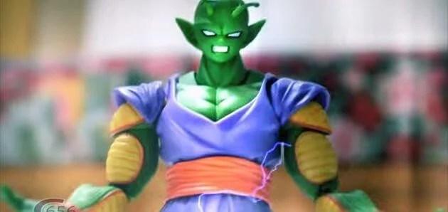 ドラゴンボールのストップモーションアニメ