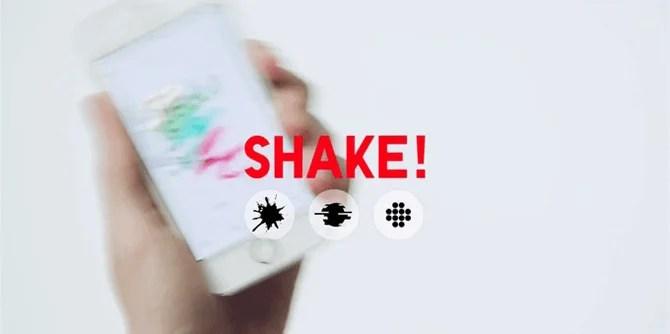 ユニクロの「UTme!」のエフェクトはシェイク!