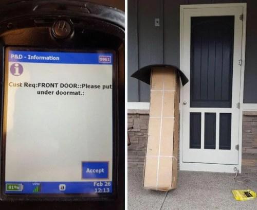 海外の宅配便が不在時の荷物を届ける方法